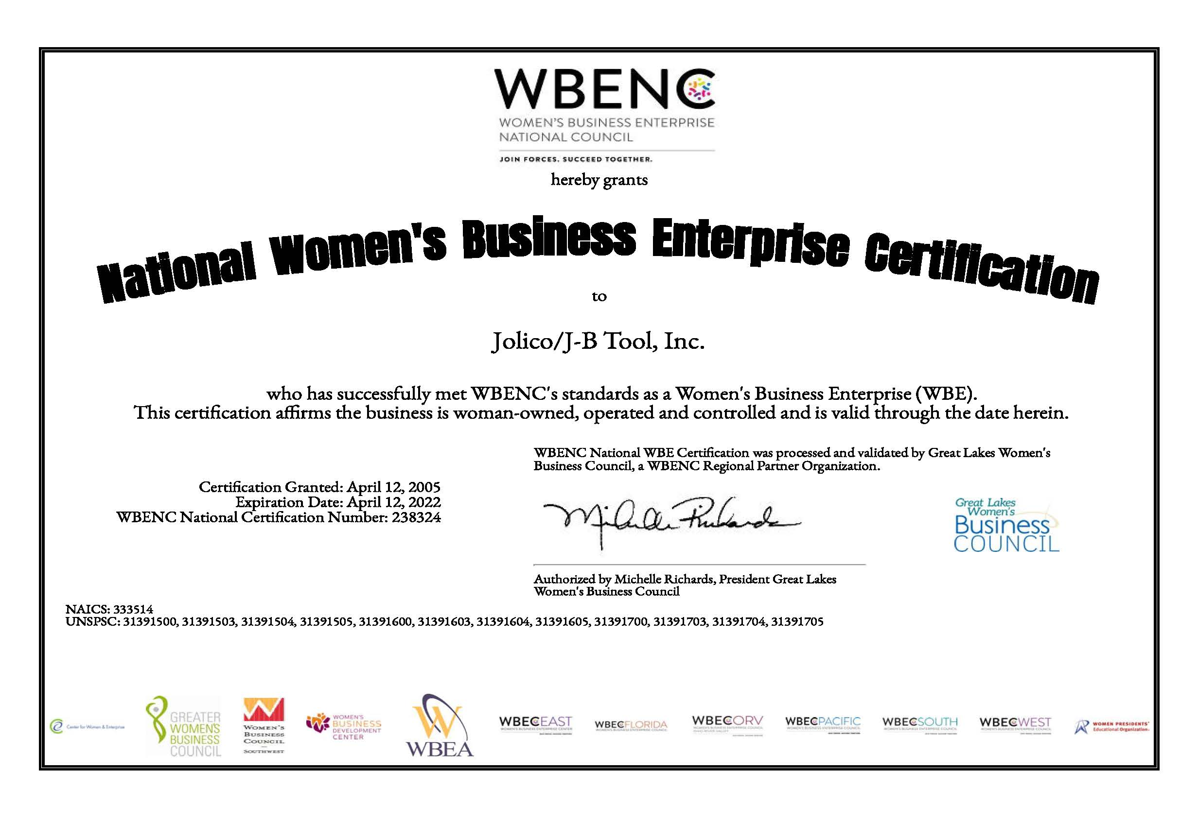 Jolico Women Business Enterprise